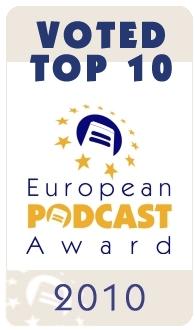 Top 10 des European Podcast Award 2010